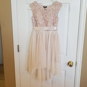 BEAUTIFULLY CUTE CREAM DRESS